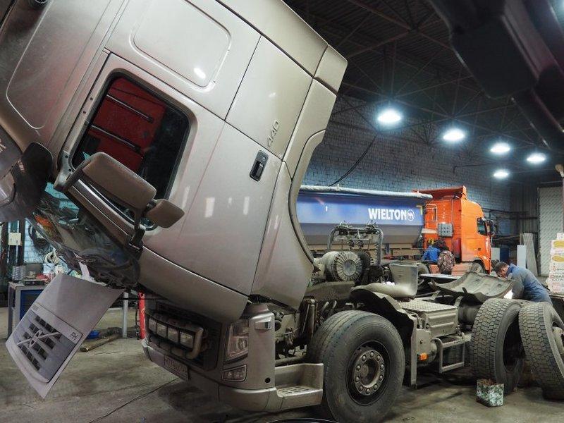 ремонт дизельных двигателей грузовых авто Вольво в Москве