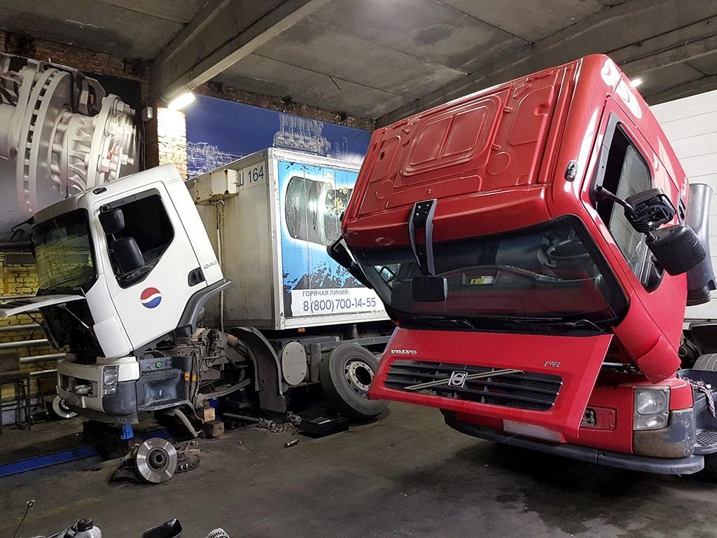 ремонт двигателей грузовых Вольво